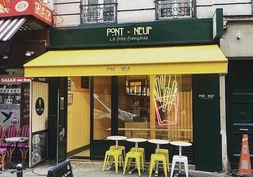 PONT NEUF LA FRITE – 11 RUE DU FAUBOURG MONTMARTRE, 75009 PARIS
